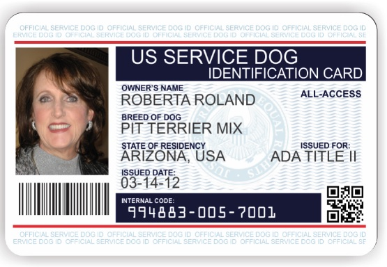 service animal id cards service dog vest and id card kits service dog vests and id cards. Black Bedroom Furniture Sets. Home Design Ideas