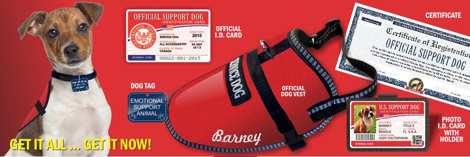 Official Emotional Support Dog Vest Service Dog Vest And