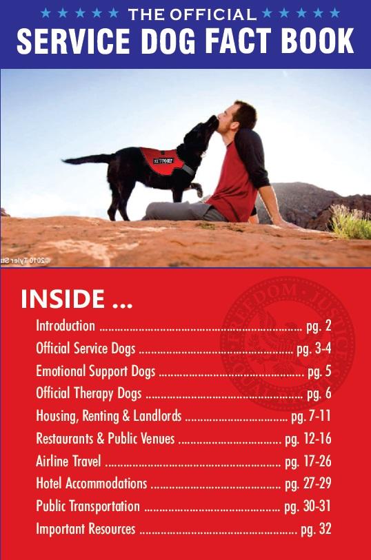Official Register Service Dog
