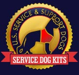 Service Dog Vest And ID Card Kits